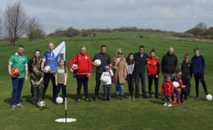 brighton footgolf group photo