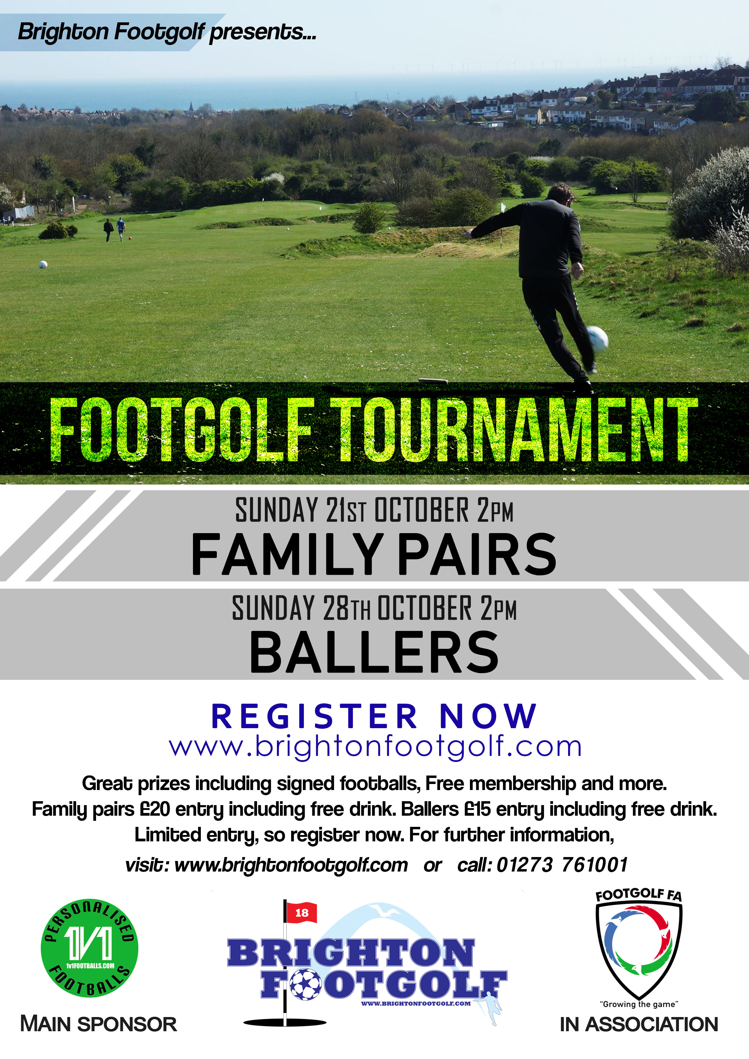 October Footgolf Tournaments