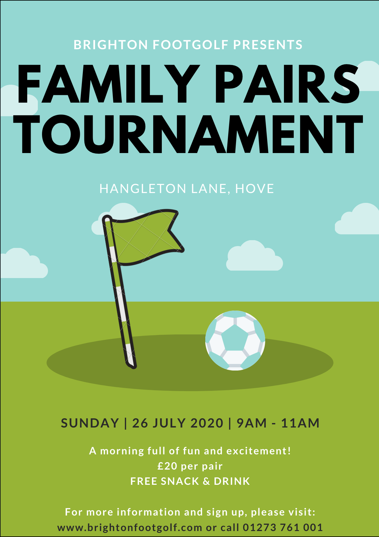 Brighton Footgolf Family Pairs Tournament